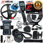 """XP Deus Metal Detector w/ Backphone Headphones, Remote, 9"""" Coil & Waterproof Kit"""