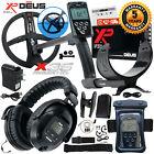 """XP Deus Metal Detector w/ Full Sized Headphone, Remote, 9"""" Coil & Waterproof Kit"""