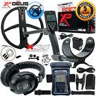"XP Deus Metal Detector w/ Full Size Headphone, Remote, 11"" Coil & Waterproof Kit"