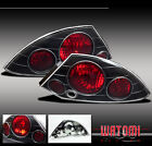 00-02 MITSUBISHI ECLIPSE RS ALTEZZA TAIL LIGHTS JDM BLK