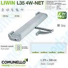 LIWIN L35 4W-NET 230V 350N GREY Synchronized motors chain for windows