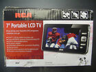 """RCA DPTM70R  7"""" LCD TV with Rechargable Battery Used"""