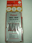 Vintage Chadwick Magic Brain Calculator with Original packaging Sealed new