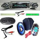 1965 Impala Bel Air Radio + Stereo Dash Replacement Speaker + 6x9's ** 630 w AC