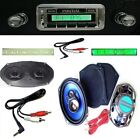 1964-67 GTO LeMans Tempest Radio + Stereo Dash Replacement Speaker + 6x9's * 230