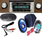 1969-1970 Cadillac Radio + Stereo Dash Replacement Speaker + 6x9's *630