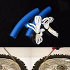 2x Motorcycle Bike Tire Changing Wheel Rims Protectors Savers Anti Scratch Blue