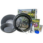 Whites Deluxe Gold Panning Kit, 2 Gold Pans Plus Accessories 802-8069-1