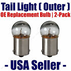 Tail Light Bulb Outer 2pk OE Replacement Fits Listed Mercedes-Benz Vehicles 5007