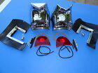 1957 CHEVROLET BEL AIR 210 150 TAILLIGHT ASSEMBLY-PAIR-GENE SMITH-COMPLETE-NEW