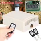DC12V 4CH Relay Wireless RF Remote Control Switch 2 Transmitter& Receiver New SE
