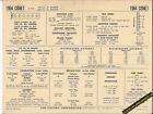 1964 MERCURY COMET 6 Cylinder 170/200 ci Engine Car SUN ELECTRONIC SPEC SHEET