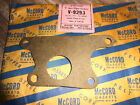 NOS McCord USA Made Gasket Water Pump To Case 1937-1940 Chevy 6 838137 V-9293