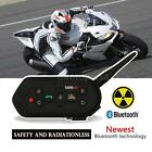 EJEAS E6 Motorcycle Intercom Headset BT Helmet Bluetooth Interphone 1200M W1G4