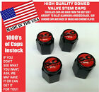 Billet Ford 5.0 Red Coyote Mustang Cobra Shelby GT Valve Stem Caps - The Best
