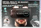Utopia 360 Virtual Reality Headset With Bluetooth Control