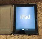 Apple iPad 1st Gen 16GB, Wi-Fi, 9.7in - Black MC820LL Pristine condition! w/case