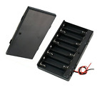 CO-RODE 8 x AA 12V Battery Holder Case Box Wired ON/OFF Switch w Cover Pack of 2