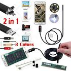 1.5/2/3.5/5/10m Digital USB Endoscope Borescope Handheld Inspection Snake Camer
