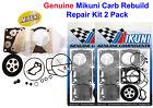Genuine Mikuni Dual Carburetor Carb Rebuild Kit Seadoo 951 XP GSX GTX RX LRV NEW