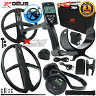 XP Deus Metal Detector Gold & Relic, Hard Case, Backphones, Remote and 2 Coils