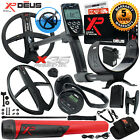 XP Deus Metal Detector w/ MI-6 Pinpointer, WS4 Backphones, Remote & 2 X35 Coils