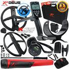 XP Deus Metal Detector w/ MI-6 Pinpointer, WS4 Backphone, Remote & 2 X35 Coils
