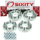 """4pc 1.25"""" Eagle 5x4.5"""" to 5x5.5"""" Wheel Spacers Adapters Talon Vision Loctite zf"""