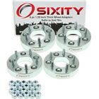 """4pc 1.25"""" 5x5"""" to 5x4.75"""" Wheel Spacers Adapters Pickup Truck SUV Thick Stud pk"""