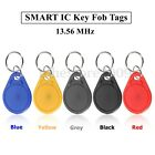 5/10PCS 13.56MHz RFID1K ISO IC Key Fobs Tags Keychain Card Access Control Set