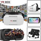 2pcs Cardboard VR BOX Virtual Reality 3D Glasses Bluetooth Remote Control Google
