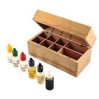 Wooden Box Test Kit - 10k, 14k, 18k, 22k, Silver, Platinum & 8 Slots Wooden Box