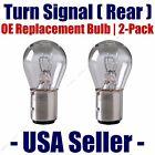 Rear Turn Signal Light Bulb 2pk - Fits Listed Austin Vehicles - 1034