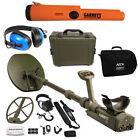 Garrett ATX Deepseeker Detector, 2 Coils, Pro Pointer AT, Waterproof Headphones