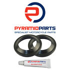 Pyramid Parts Fork Dust Seals for: Yamaha FZX750 87-89