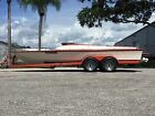 1977 Taylor Runabout Jet Boat Vintage 23' Cruiser Big Block Ford 460 W/Trailer