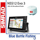 SIMRAD NSS12  Evo3 With Broadband 4G Radar