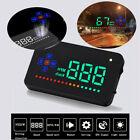 """3.5"""" Car HUD Overspeed Alarm Speedometer Dashboard Head Up Display A2 Digital"""