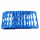 AED 5847X : Fuel Bowl Gaskets, Blue Fiber, Holley, Primary/Secondary, Set of 10