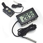 Mini Digital LCD Indoor/Outdoor Temperature Meter Thermometer +Battery+Cable NE