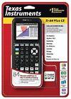 New Texas Instruments TI-84 Plus CE Color Graphing Calculator Black NIB