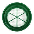 "Green Plastic 13-1/4"" Gold Sifting Pan Classifier 1/2 Mesh Size"