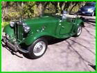 1952 MG Other T-Series Convertible 1952 MG TD T-Series Convertible Stock 1250cc Engine 4-Speed Manual Luggage Rack