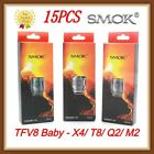 15 Pcs Smok TFV8 Baby Coil Head Cloud Beast Replacement For V8 Baby T8 X4 Q2 LOT