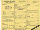 1974 PONTIAC 455 ALL MODELS w/4 BBL CARB Engine Car SUN ELECTRONIC SPEC SHEET