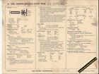 1969 CHEVROLET CAMARO/CHEVELLE/NOVA 230 ci/140 hp Car SUN ELECTRONIC SPEC SHEET