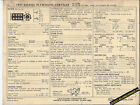 1971 DODGE-PLYMOUTH-CHRYSLER 383 ci/ 275 hp Engine Car SUN ELECTRONIC SPEC SHEET
