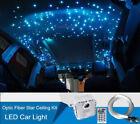 32W RGB Car LED Light 835 Strands Fiber Optic Twinkle Star Ceiling Kit RF Remote