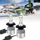 H4/9003/HB2 LED Headlight Bulbs 8000LM 6500K Hi/Lo Dual Beam For 2000 Arctic Cat