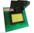 U10241 EBGA24 BGA24 Socket Adapter For UP818 UP-818 UP828 UP-828 Programmer A
